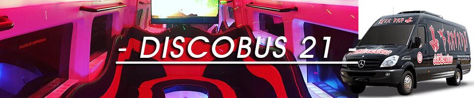 Discobus 21, bus limusina