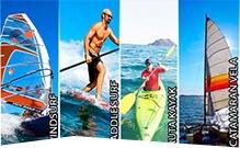 Actividad náuticas para despedidas en Gandía