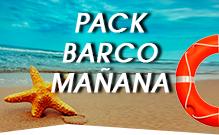 Pack Barco Mañana despedidas de soltero Gandía