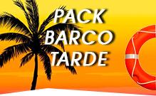 Pack Barco Tarde despedidas de soltero Gandía